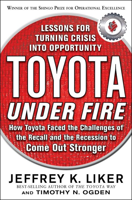 Toyota Under Fire: Lessons for Turning Crisis Into OpportunityToyota Under Fire: Lessons for Turning Crisis Into Opportunity